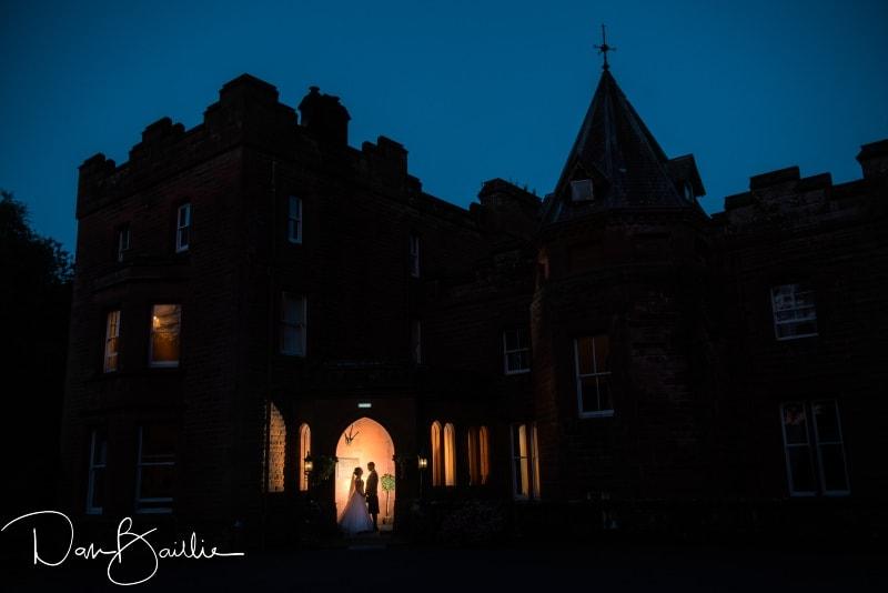friars carse wedding night time