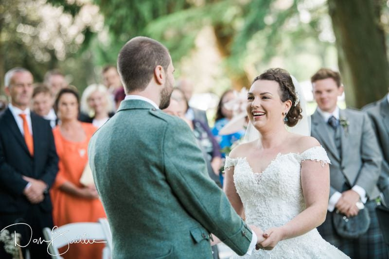 wedding at friars carse