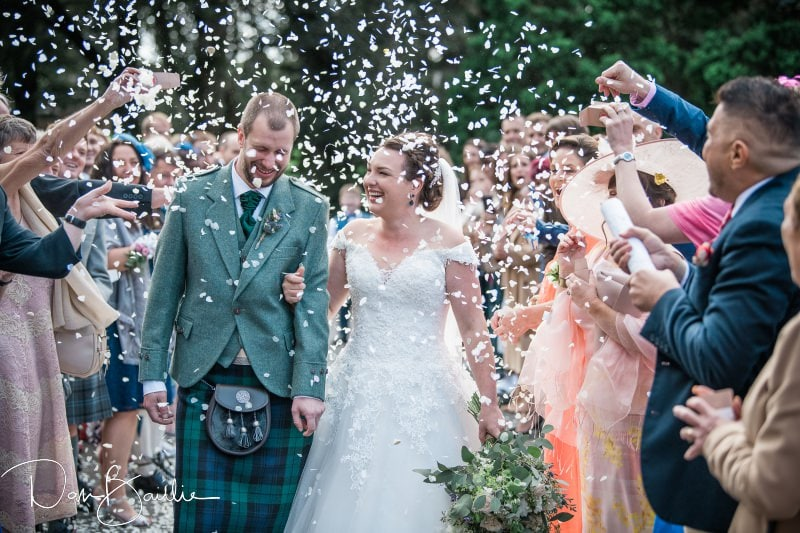Confetti at friars carse