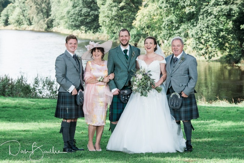 family photographs at friars carse