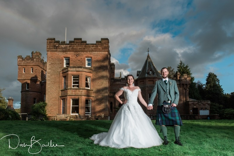 SUMMER WEDDING AT FRIARS CARSE COUNTRY HOUSE HOTEL IN DUMFRIES – AMY AND NEIL