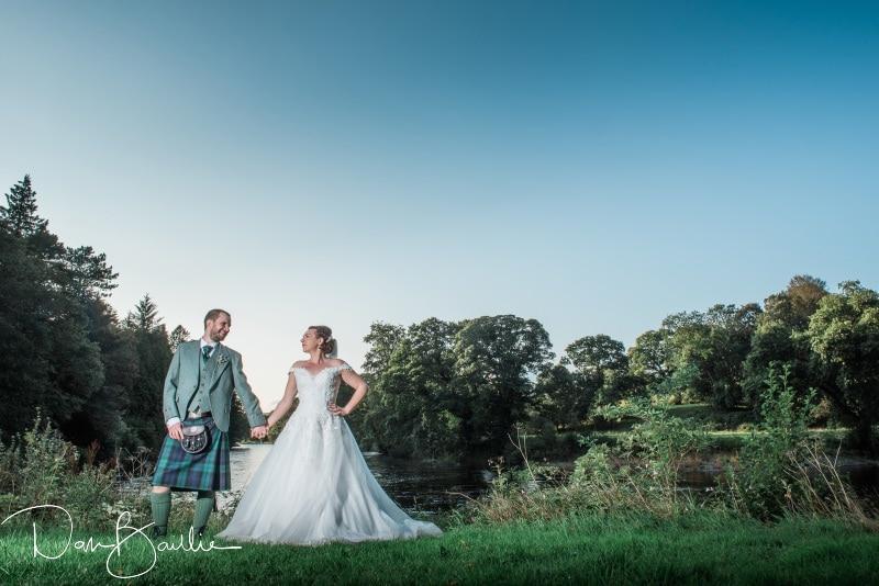 wedding day at friars carse