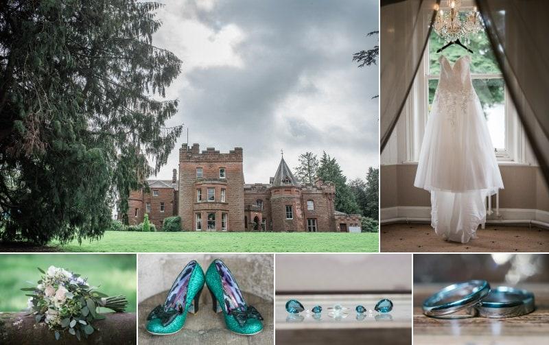 Wedding Details at Friars Carse